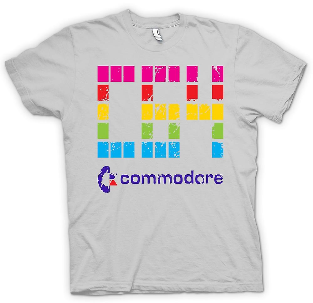 Mens T-shirt - Commodore C64 - Retro Computer Games - Funny