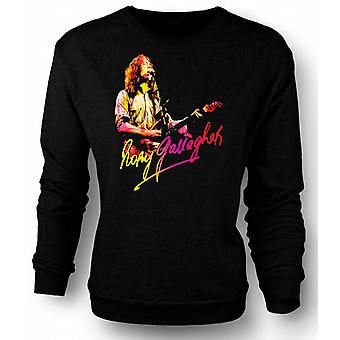 Mens Sweatshirt Rory Gallagher - Blues Gud - rockemusikk
