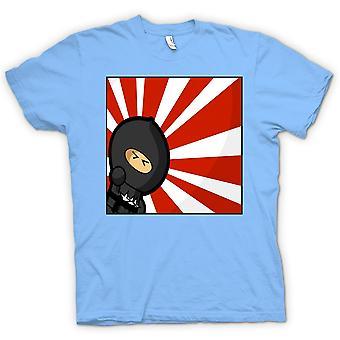 Mens T-shirt - Ninja - Pop Art - lustig