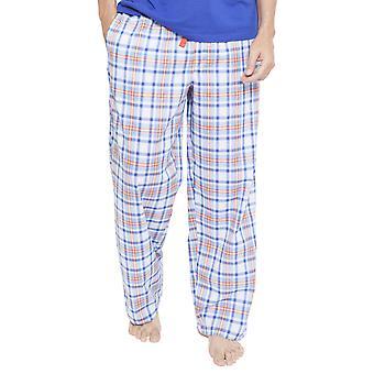 Cyberjammies 6345 Men's Oscar Blue Plaid Pyjama Pant