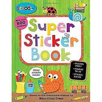 Super Sticker Book [With Sticker(s)] (Schoolies)