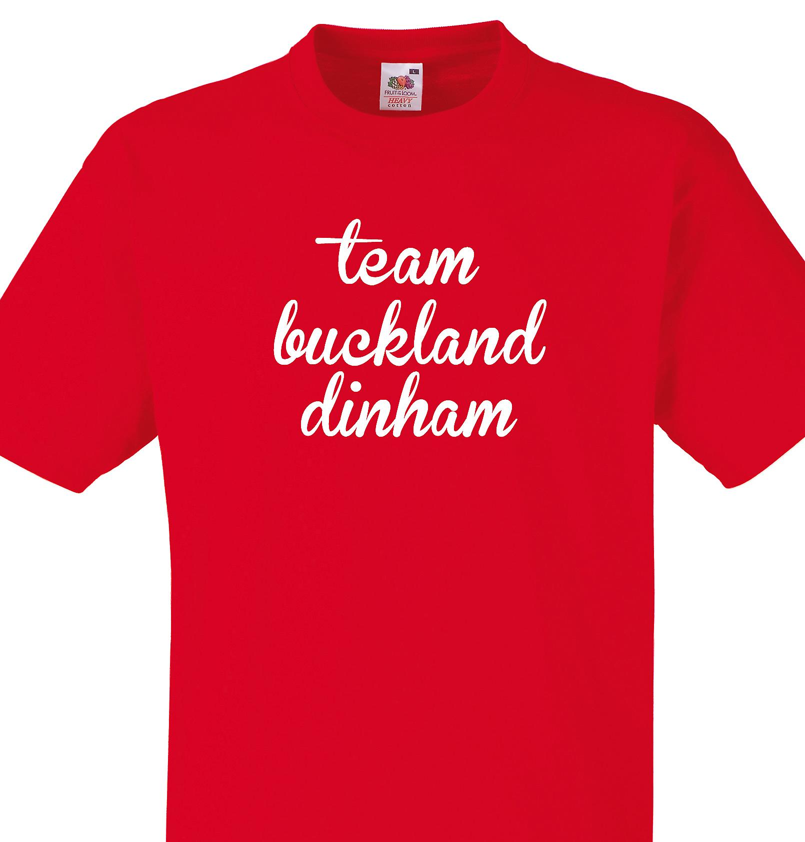 Team Buckland dinham Red T shirt