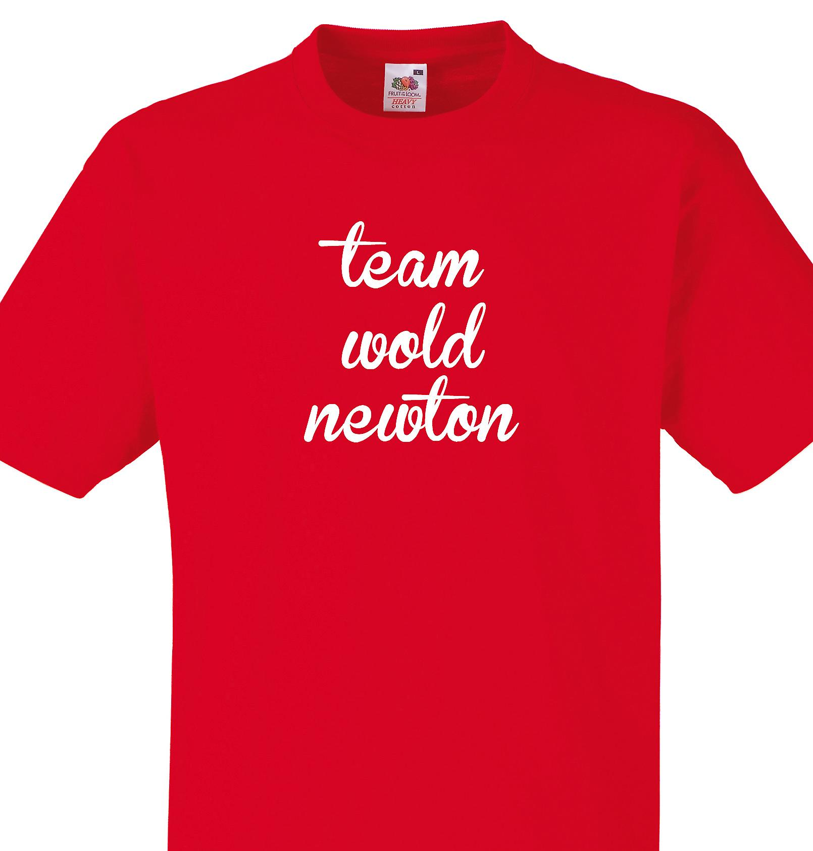 Team Wold newton Red T shirt
