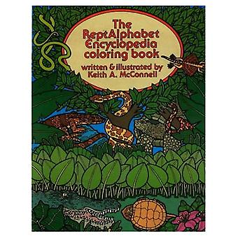 The reptAlphabet encyclopedia coloring book