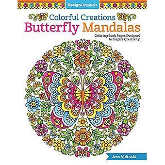 Kleurrijke creaties Butterfly Mandalas: Kleurplaten boek ontworpen om te inspireren creativiteit!