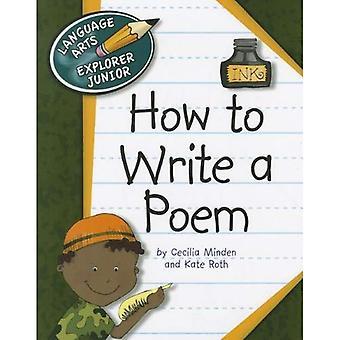 Hur man skriver en dikt (Language Arts Explorer Junior)