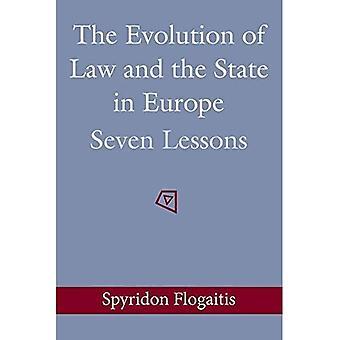 Evolutie van het recht en de staat in Europa: zeven lessen