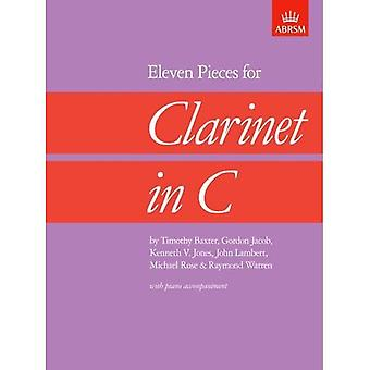 Eleven Pieces for Clarinet in C