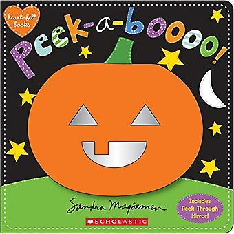 Peek-a-Boooo! A Heartfelt Book [Board book]