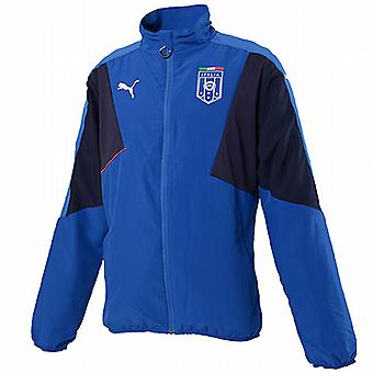 2015-2016 Italien Puma Stadium Leisure Jacket (blå) - barn