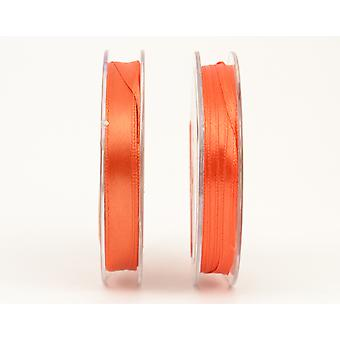 SALE - 3mm Orange Polyester Satin Craft Ribbon - 10m | Ribbons & Bows for Crafts