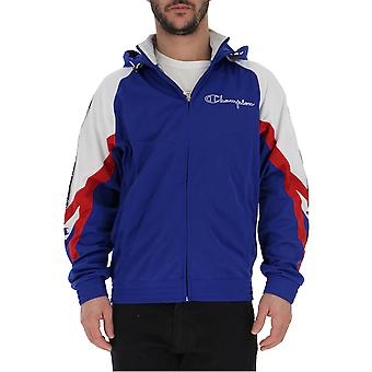 Champion Blue Polyester Outerwear Jacket