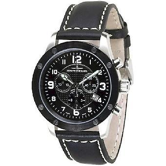 Zeno-watch mens watch of screws 5030 chronograph 9530Q-SBK-h1