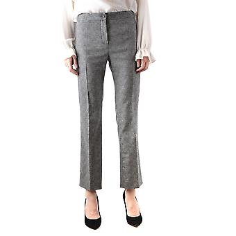 Boutique Moschino Grey Wool Pants