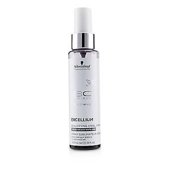 Schwarzkopf BC Excellium Q10+ Pearl Beautifying Steel Spray (For Silver and White Hair) 100ml/3.38oz