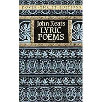 Lyric Poems by John Keats - 9780486268712 Book