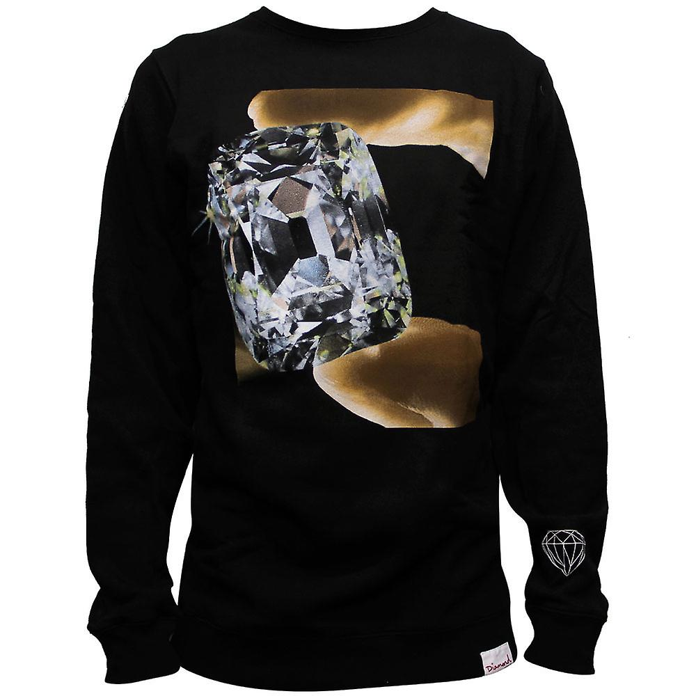 Diamond forsyning Co perle Sweatshirt svart