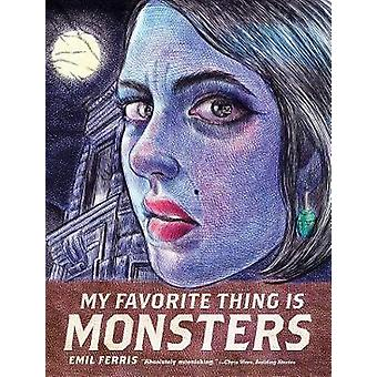 My Favorite Thing Is Monsters by Emil Ferris - 9781606999592 Book