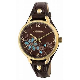 Kahuna Womens Brown Strap Brown Dial KLS-0308L Watch