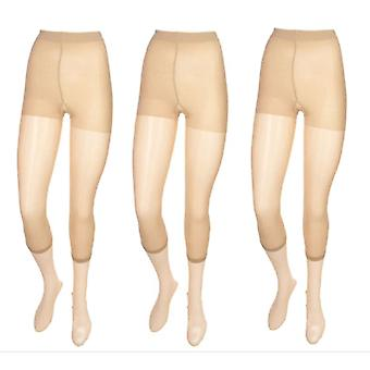 Legacy 3 Pack licht controle Pant liner naakt beige Panty's 7001197