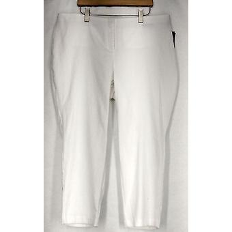 Alfani Plus Pants Jacquard Woven Python Print Pant White Womens