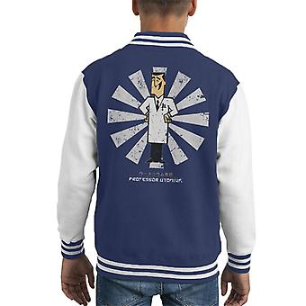 Professor Utonium Retro Japanese Powerpuff Kid's Varsity Jacket