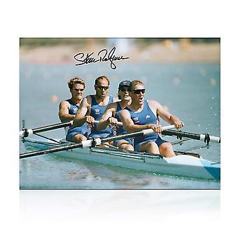 Sir Steve Redgrave Signed Photo: The Winning Team