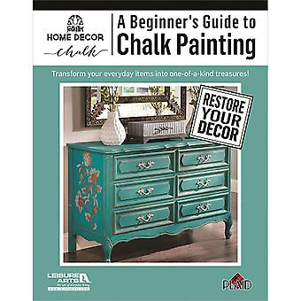 Leisure Arts-A Beginner's Guide To Chalk Painting LA-6437
