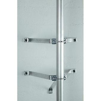 SAT wall mount A.S. SAT 29031 Projection distance: 26 cm Silver