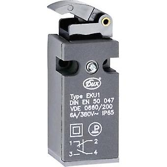 Limit switch 380 Vac 6 A Lever (slider) momentary Schlegel EKU1-KG IP65 1 pc(s)