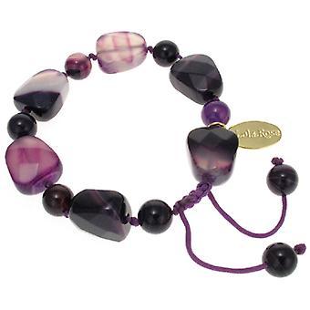 Lola Rose Tasia Bracelet Purple Montana Agate