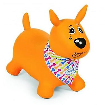 Ludi My Dog Jumping Amarillo (Outdoor , Garden Toys , Stilts)