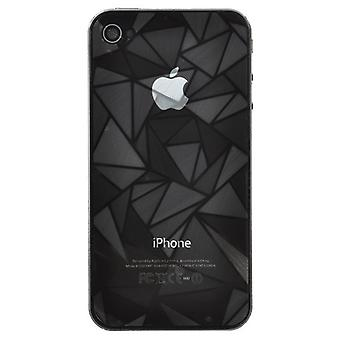 Protector-Skin with 3D, Diamond pattern for iPhone 4/4s