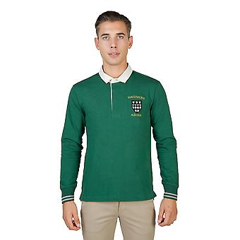 Oxford University Polo Männer grün