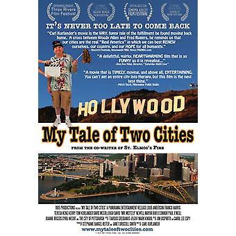 Min berättelse om två städer filmaffisch (11 x 17)