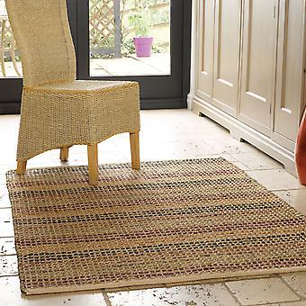 Natuurlijke levenswijze zeegras tapijten In Terracotta