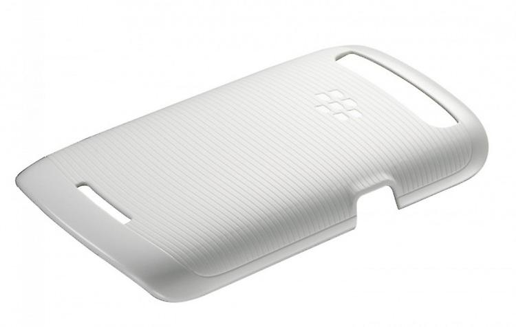 BlackBerry soft shell cell phone cover case for BlackBerry Q10 - white