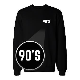 90's Pocket Print Sweatshirt Back To School Unisex Sweat Shirt