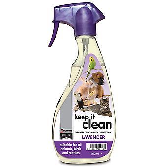 Supreme Keep It Clean Lavender 500ml (Pack of 6)
