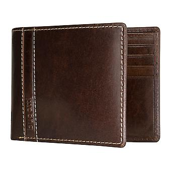 Bugatti Gola men's apparent bag purse wallet purse Brown 5185