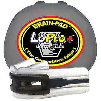 Brain Pad LoPro+ Mouthguard - Black