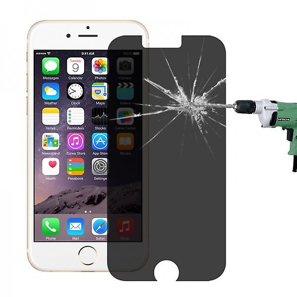 Privacy 0,3 mm Panzerglas Schock Folie für Apple iPhone 6 4.7