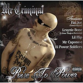 Mr. Criminal - stige 2 Power [CD] USA import