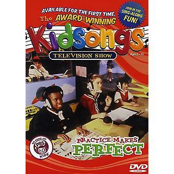 Kidsongs - praksis gør perfekt [DVD] USA importerer
