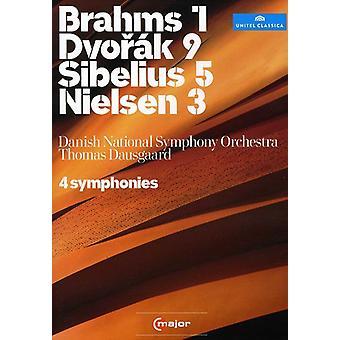 4 symfonier [DVD] USA importerer