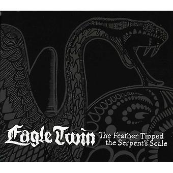 Eagle Twin - fjer Tipped slangens skala [CD] USA importerer