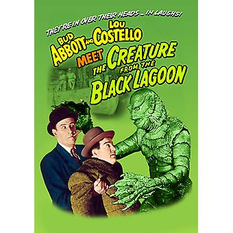 Abbott & Costello Meet the Creature From the Black [DVD] USA import