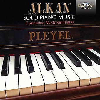 Costantino Mastroprimiano - Alkan: Solo Piano Music [CD] USA import