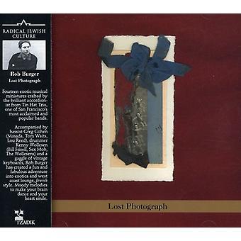 Rob Burger - Lost Photograph [CD] USA import