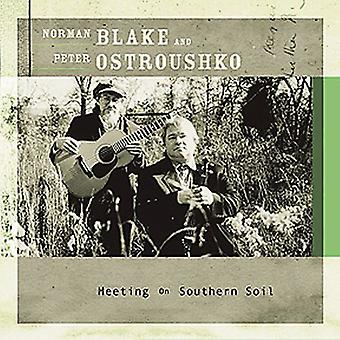 Blake/Ostroushko - møde på det sydlige jord [CD] USA import